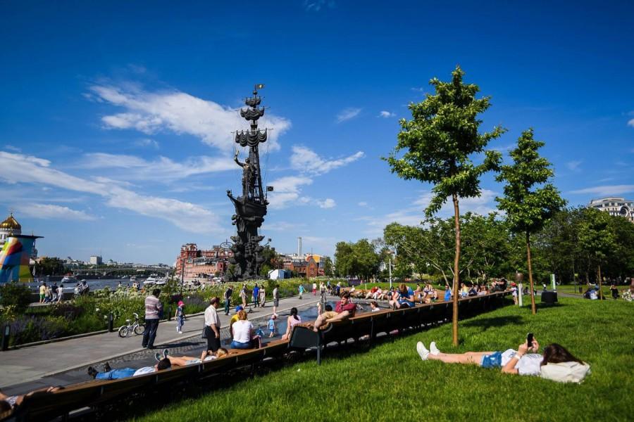 МОСКВА. 3 маршрута по живописным паркам столицы