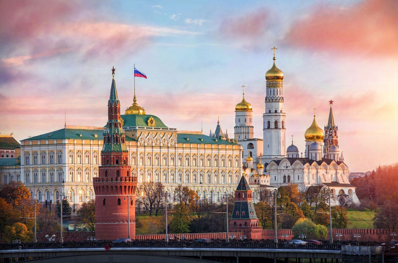 Москва. 2 маршрута Московского Марафона