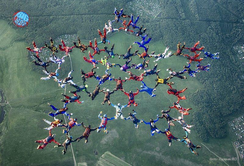 Прыжок с парашютом. 3 истории рекордсменок.
