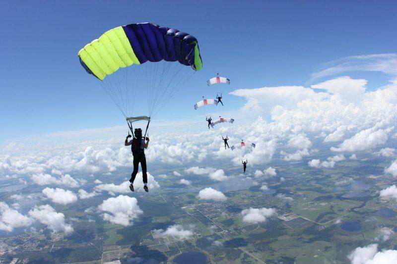 5500 прыжков на встречу мечте. Парашютистка Юлия Пангбурн делится секретами.