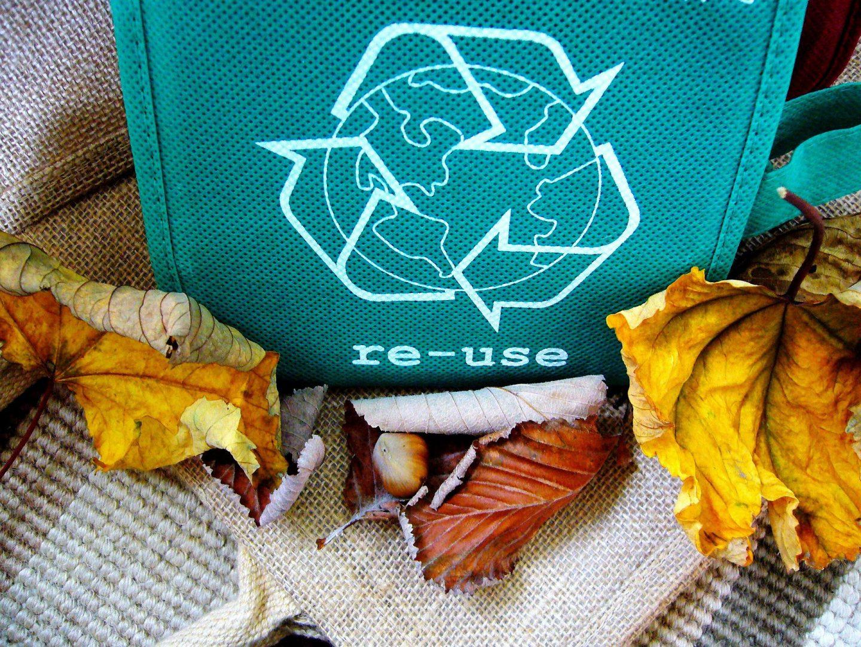Переработка отходов в защиту планеты.